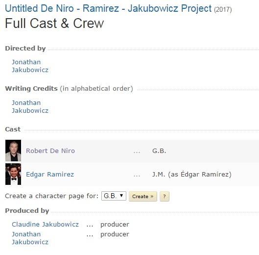 De Niro IMDb 2