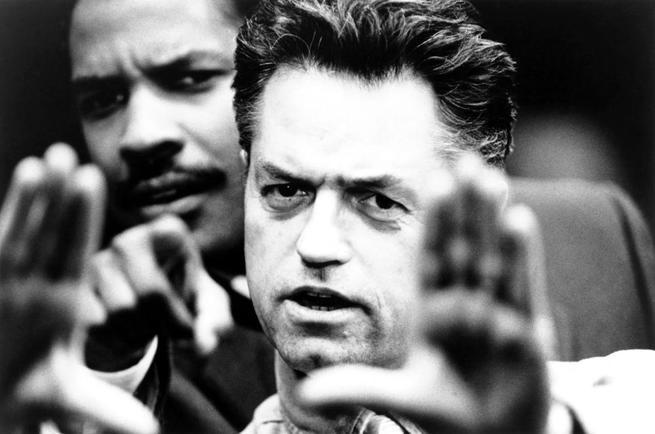 PHILADELPHIA, Jonathan Demme directs Denzel Washington, 1993