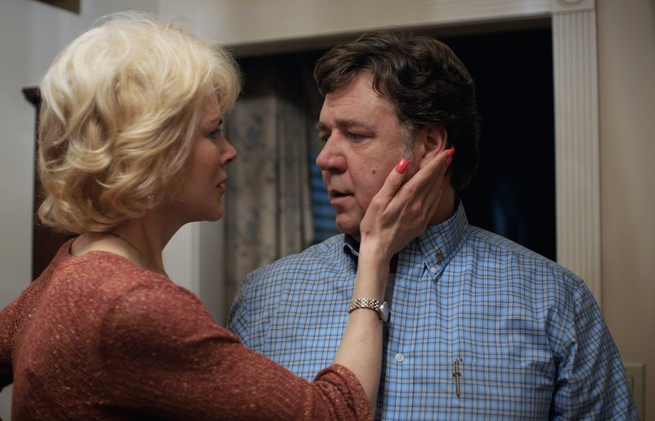 "Nicole Kidman stars as ""Nancy"" and Russell Crowe stars as ""Marshall"" in Joel Edgerton's BOY ERASED, a Focus Features release."