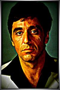 SCARFACE, Al Pacino, 1983