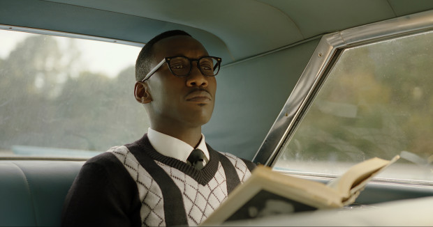 "This image released by Universal Pictures shows Mahershala Ali in a scene from ""Green Book."" (Universal Pictures via AP)"