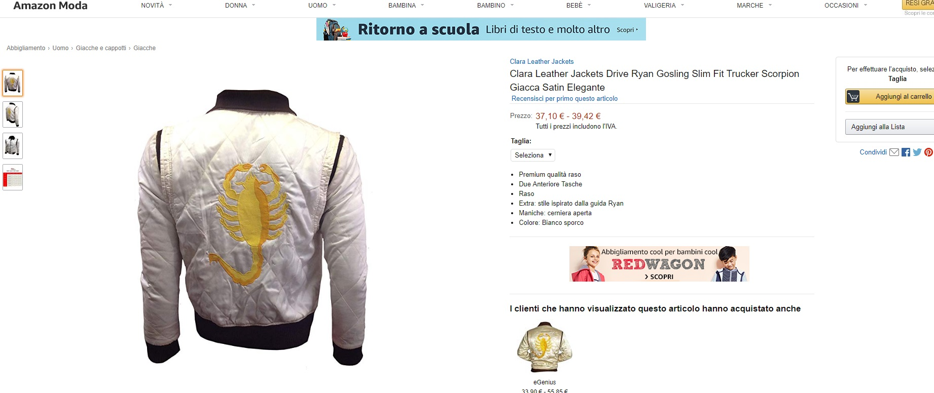 più vicino a amazon fascino dei costi atipico abbigliamento