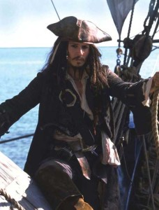 JOHNNY DEPP in Pirates Of The Caribbean Filmstill - Editorial Use Only Ref: FB sales@capitalpictures.com www.capitalpictures.com Supplied by Capital Pictures