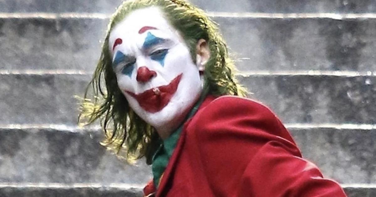 Poi Ho Realizzato Che /È Una Commedia-Cinema iMage T-Shirt Il Nuovo Joker Frase Pensavo Che La Mia Vita Fosse Una Tragedia