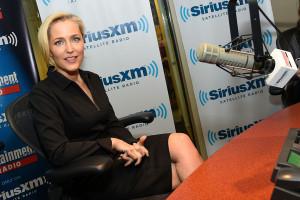 Gillian+Anderson+Celebrities+Visit+SiriusXM+rTmKVDndSFAl