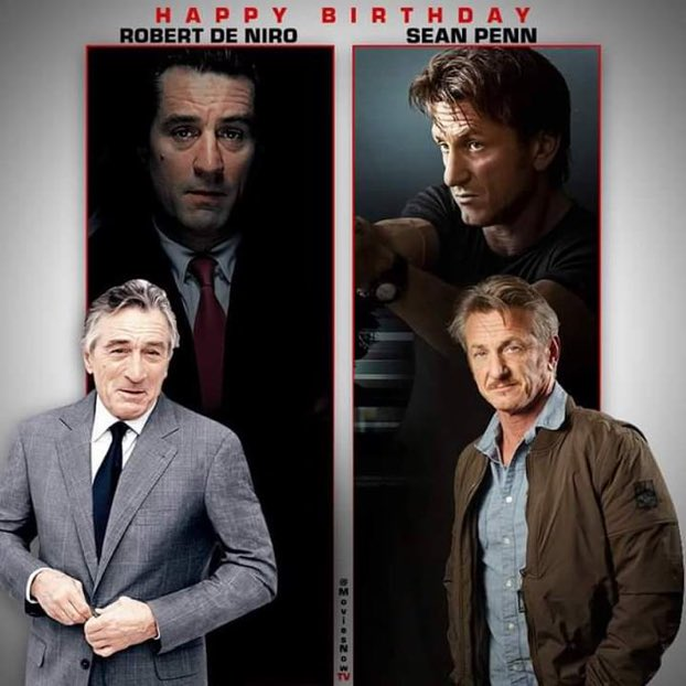 birthday sean penn de niro