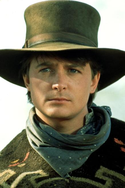 BACK TO THE FUTURE III, Michael J. Fox, 1990.