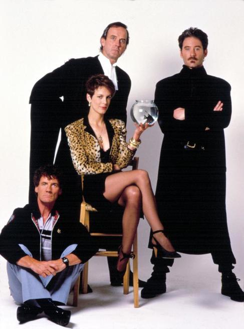 A FISH CALLED WANDA, Michael Palin, John Cleese, Jamie Lee Curtis, Kevin Kline, 1988