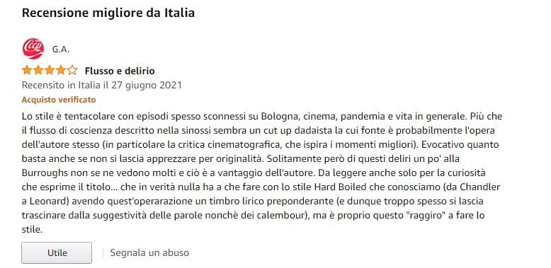 recensione bologna hard boiled